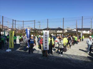 地域防災拠点開設・運営訓練 @ 横浜市立都筑小学校